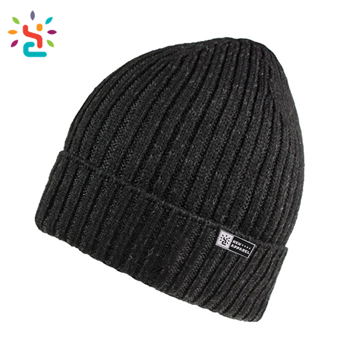 Soft mini wool hat Winter Hats black Thinsulate Insulated Cuffed sports Hat  Knit Warm Ski Crochet bad700c2687
