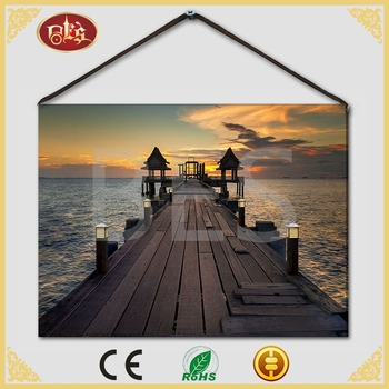 Light Up Spring Sunset Wholesale Cheap Canvas