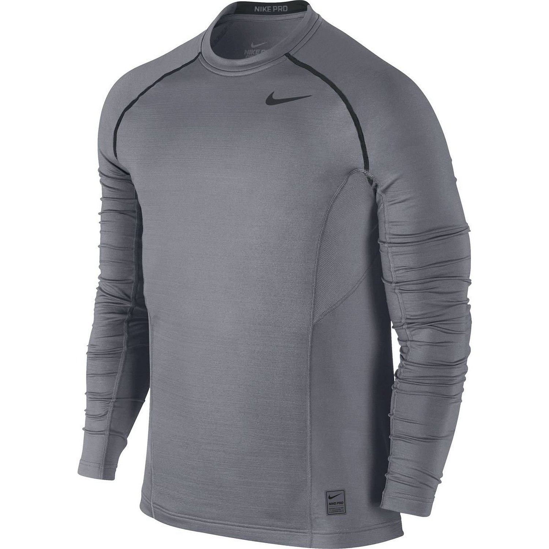Nike Mens Pro Combat Hyperwarm Dri-FIT Max Fitted Crew 659814