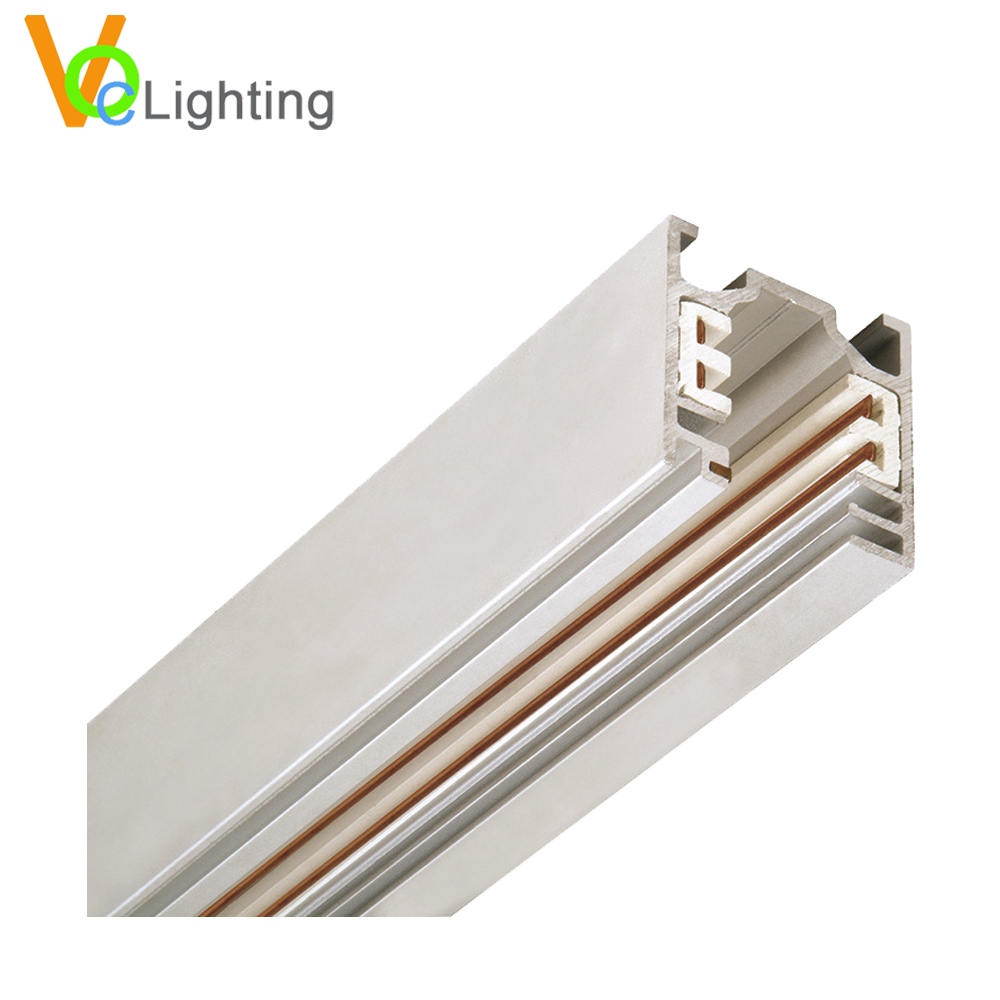 4 Phase Track Rail 4 Wires Aluminum Profile LED Track Light System