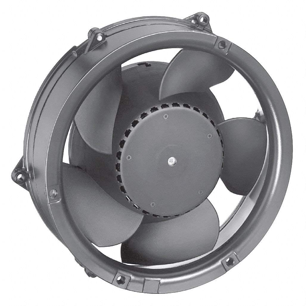 "Round Axial Fan, 6-49/64"" Width, 6-49/64"" Height, 6-49/64"" Fan Dia., 48VDC Voltage"