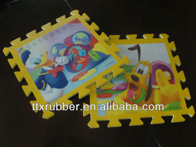 EVA puzzles carpet for baby baby