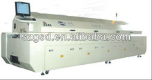 GSD-L8 large size eight zones SMT CFL soldering machine cost, To be the best manufacturers in china