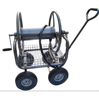 garden hose reel cart. Optional Rolling Garden Hose/ Metal Four Wheel Hose Reel Cart. Cart