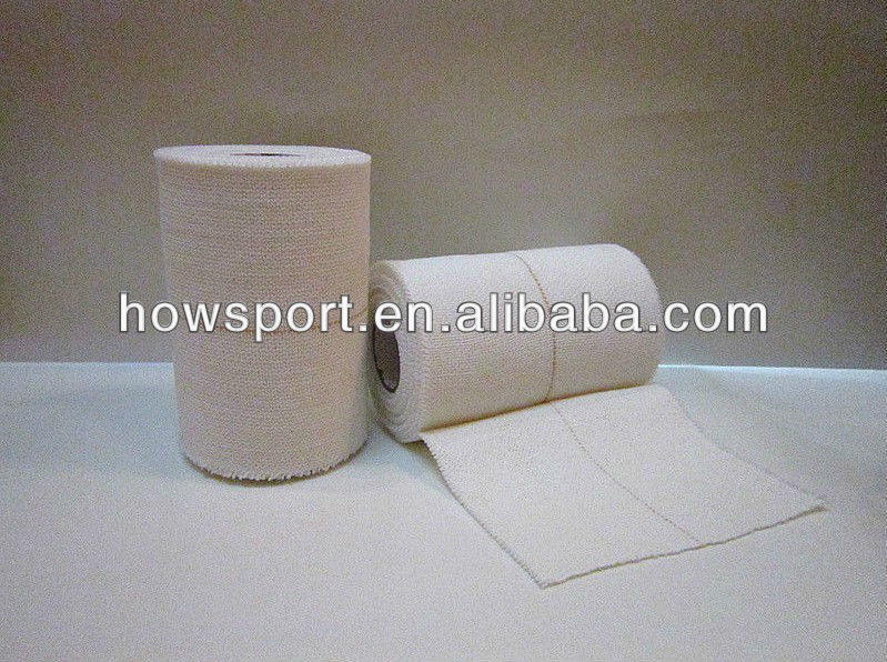 ( S )Elastic Adhesive Bandage White 5cm x 4.5m A firm support, elasticated bandage with adhesive ISO/CE