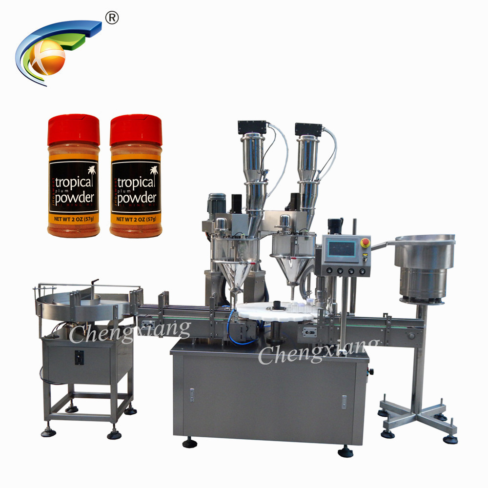Factory price automatic double auger filling machine,auger filler,powder filling packing machine