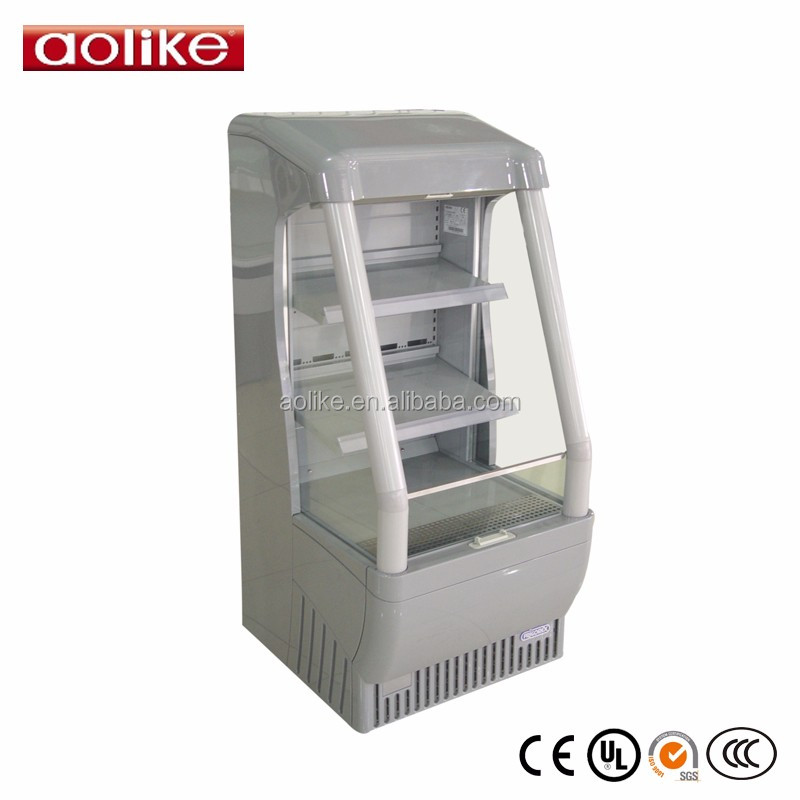 Supermarket mini Energy drink display fridge air cooler