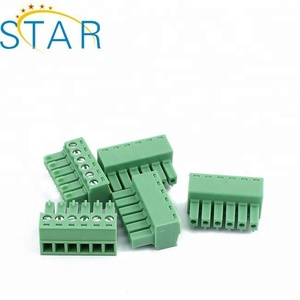 6 Pin 3.81MM Pitch Straight Pin PCB Screw Terminal Blocks