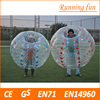 CE standard 1.0mm TPU/PVC inflatable tumble ball, football suit