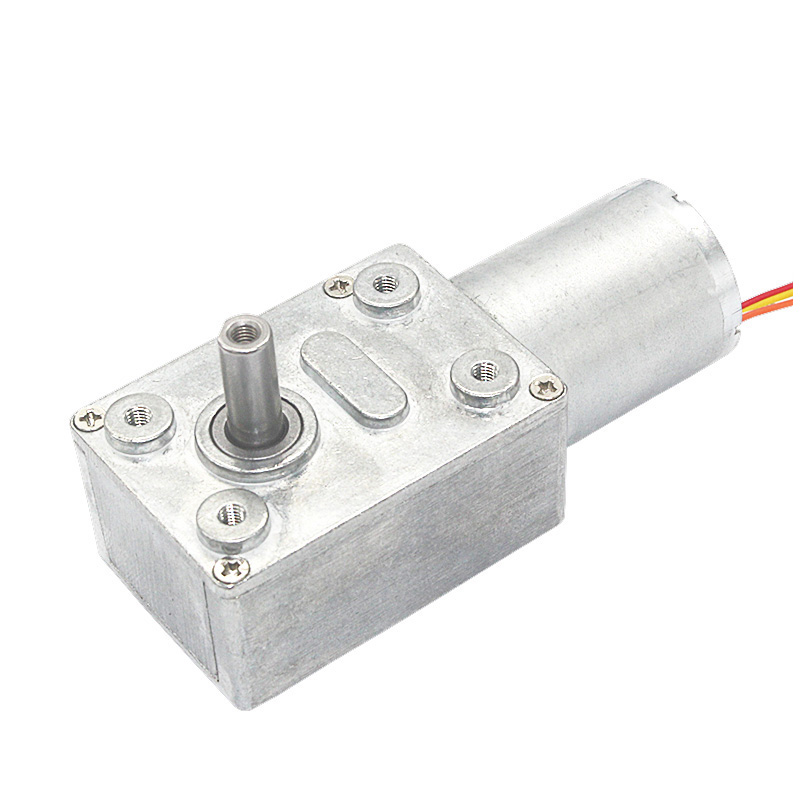 High Torque Long Life Low Noise DC 12V 40 RPM Brushless Worm Gear Motor OEM/ODM