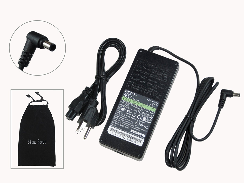 Sony Original VAIO 19.5V 6.15A 120W AC Adapter for Sony VAIO PCG-FRV Series: PCG-FRV, PCG-FRV23, PCG-FRV25, PCG-FRV25Q, PCG-FRV26, PCG-FRV27, PCG-FRV28, PCG-FRV30, PCG-FRV31, PCG-FRV33, PCG-FRV34, PCG-FRV35, PCG-FRV35Q, PCG-FRV37, 100% Compatible With P/N: PCGA-AC19V6, PCGA-AC19V7, PCGA-AC19V8,