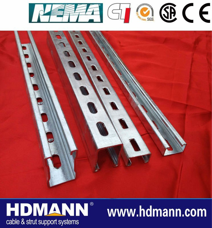 customized outdoor stainless steel unistrut channel supplier