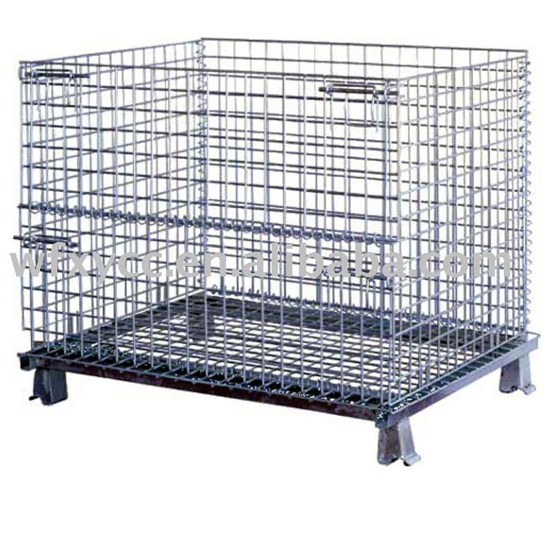 Steel Storage Cage For Warehouse And Supermarket   Buy Wire Cage,Storage  Cage,Wire Storage Cage Product On Alibaba.com