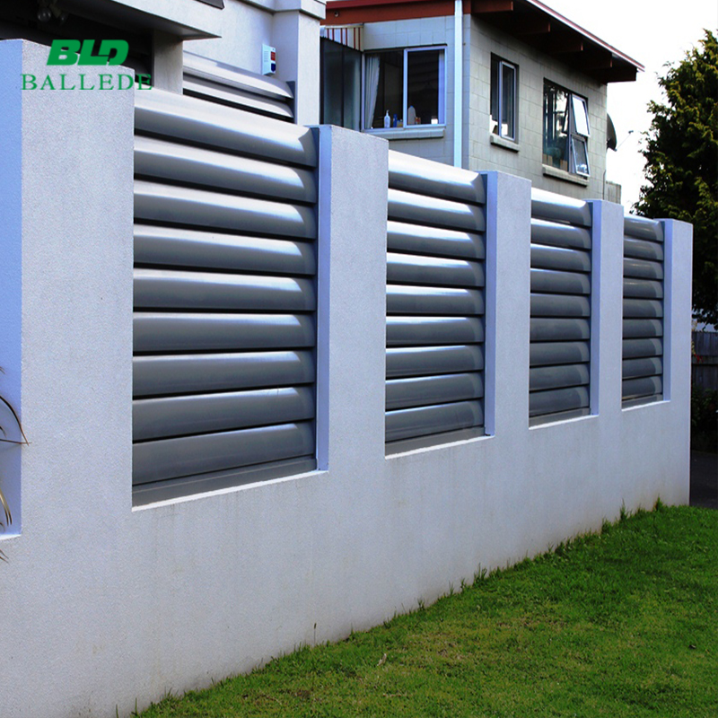 aluminum garden fence privacy screen
