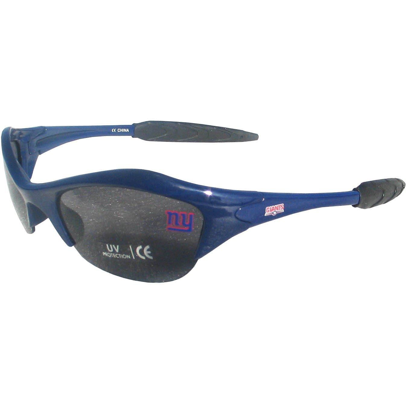 4290fb35375 Get Quotations · NFL New York Giants Half Frame Sunglasses