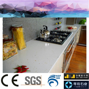Foshan Factory Directly Artificial Quartz Synthetic Granite Countertops Suppliers