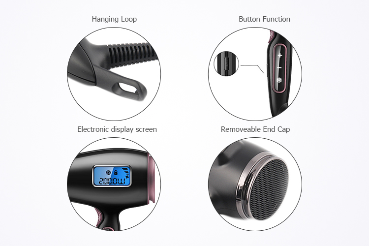 Hot sale!! Household LCD Digital display touch control private label hair blow dryer professional