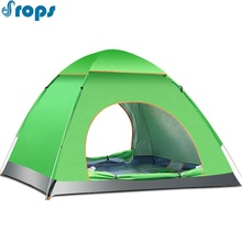 3-4 persoon Waterdichte Tent Custom Automatische Pop Up 1-2 Persoon Outdoor <span class=keywords><strong>Camping</strong></span> Tent