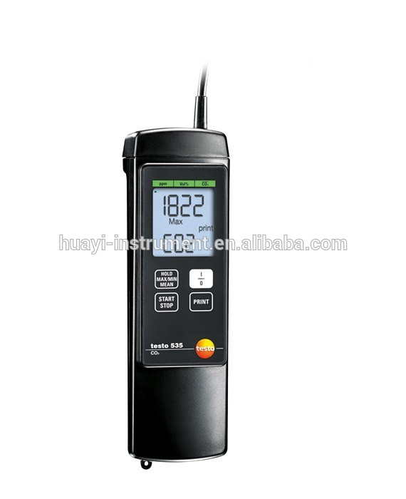 High Accurate CO2 Measurements Testo 535 CO2 Meter