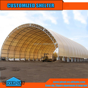 PVC Fabric Steel Frame Boat Storage Shed Shelter