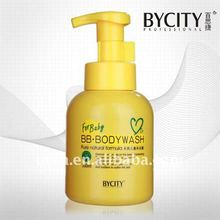 Pure natural baby body wash with mild ingredients
