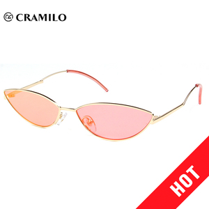 Unique style sexy women pink cat eye sunglasses
