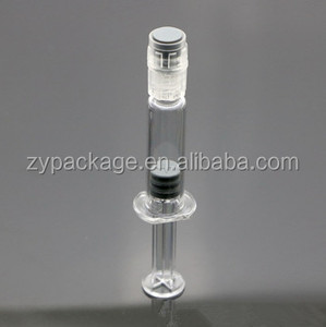 Luer Lock / Tip Glass Syringes 1ml Vape Oil Syringe Concentrate Oil  Syringes injector