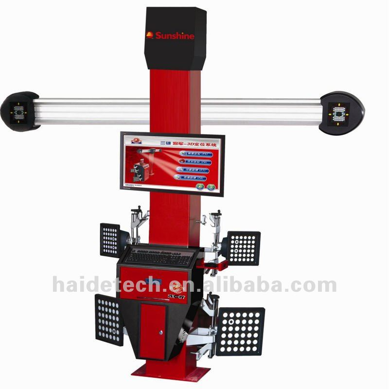 3d car wheel align machine with CE & ISO Certificate