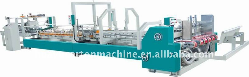 AG.406 Kinds of MZT series of high speed automatic carton folder gluer machine