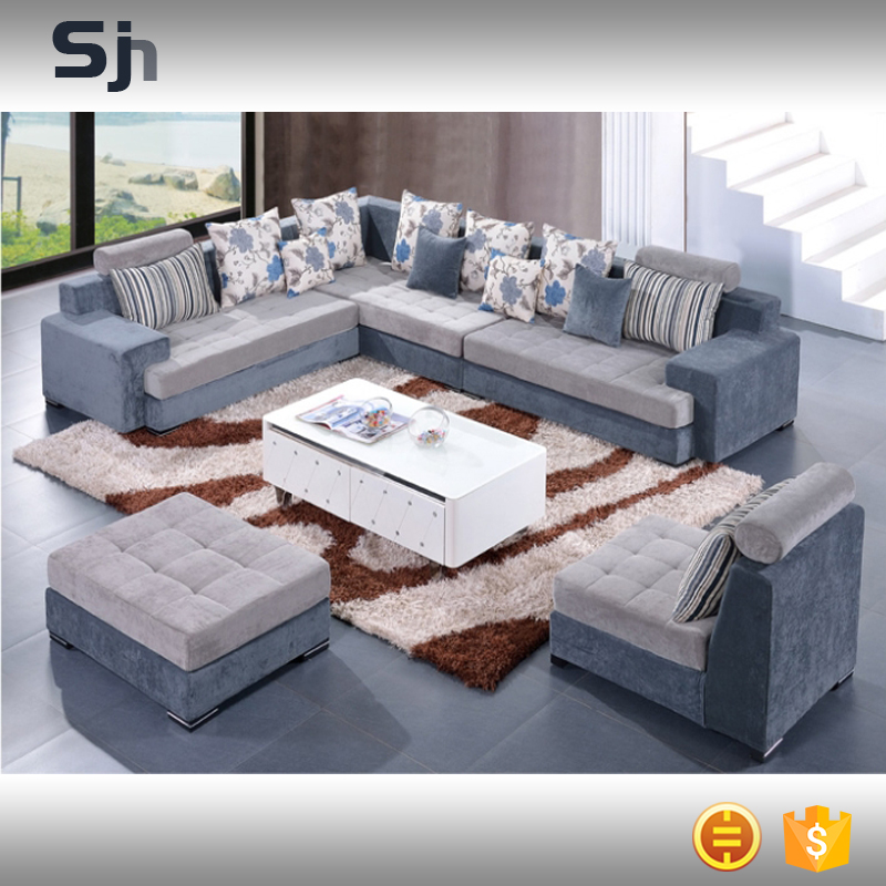New sofa set recliner sofa new design large size l shaped for Latest sofa designs for living room