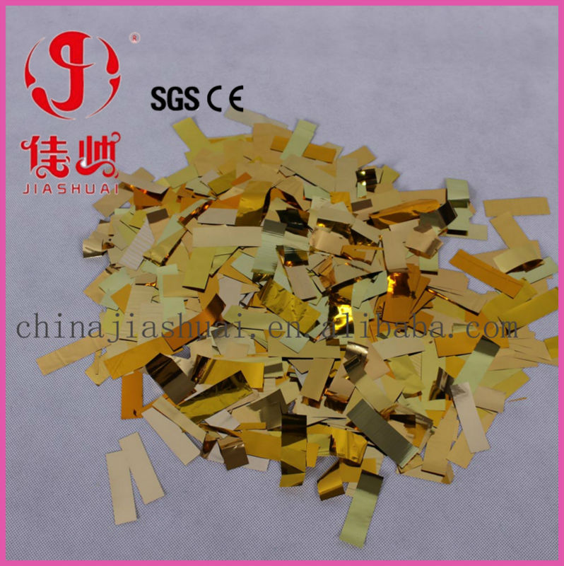 Color brilliancy gold confetti glitter, party supplies cheap,wholesale kids birthday party supplies