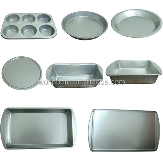 Eco friendly food grade baking bread loaf tin pan cake case mold