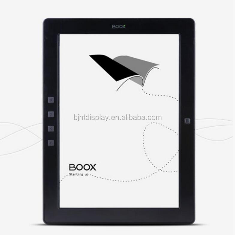 9.7 inch E-Ink display