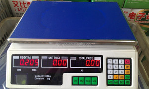 6kg digital calibration electronic scale acs