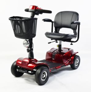 FDA CE Certificate 4 Wheels PG Controller Elderly Electric Mobility Scooter