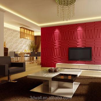 Chino Decorativo Acustico Panel De Pared Impermeable Para Paredes 3d - Paneles-para-pared