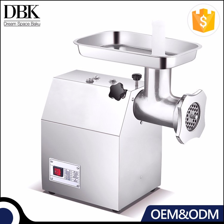 DBK Cheap Automatic Desk-top Meat Mincing Machine Meat mincer