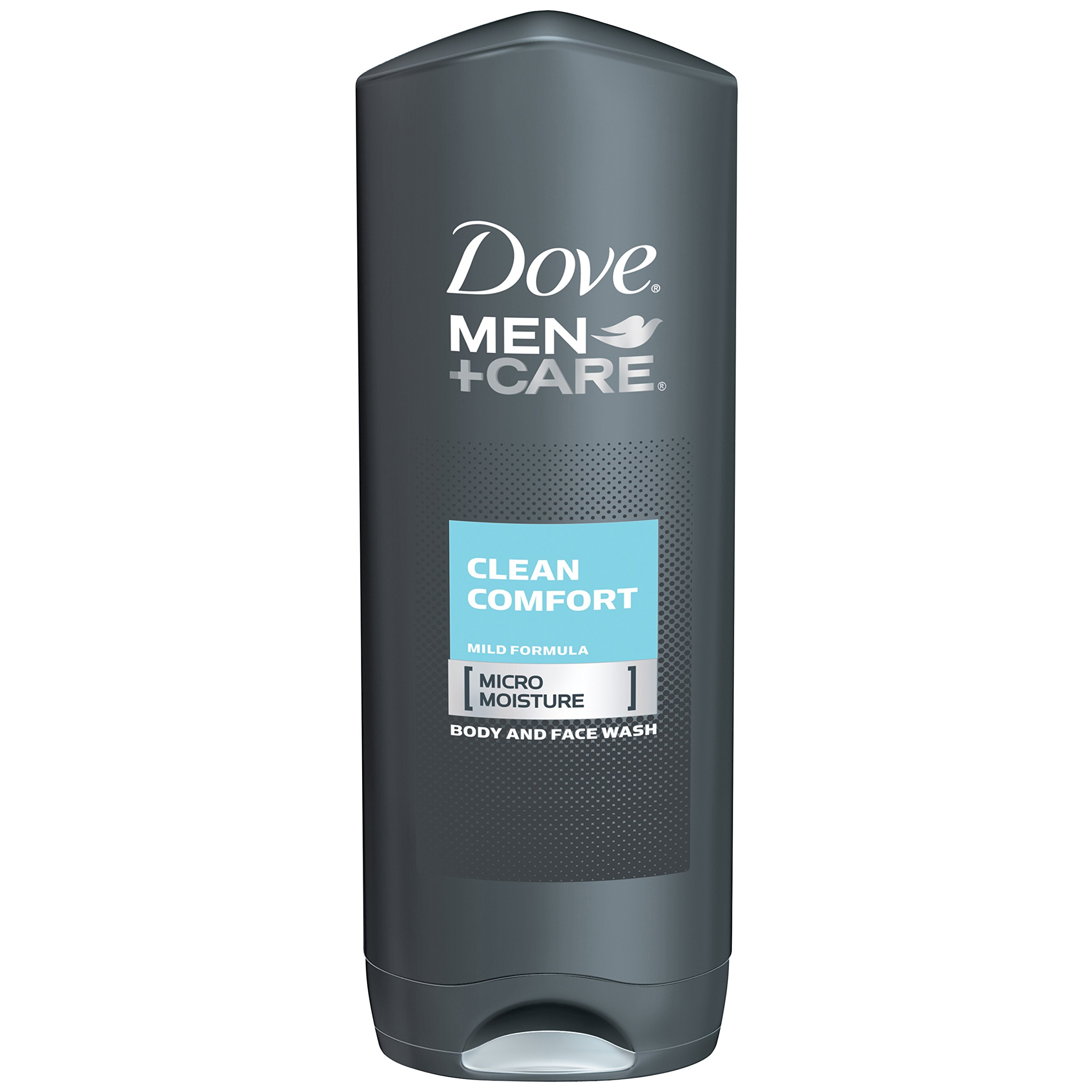 Dove Men+Care Body and Face Wash, Clean Comfort 18 oz (pack of 3)