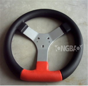 2 seat dune 270mm go kart steering wheel for electric buggy