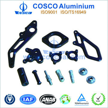 Aluminium extrusion car spare parts