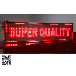 P10 1r led screen led sign led panel outdoor p10 modules mobile wifi control