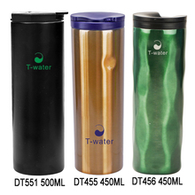 Best design press lid stainless steel travel mug replacement lid with logo silicone