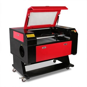 VEVOR 80W CO2 Laser Cutting Machine 700*500mm with Rotary Axis 3d laser engraving machine