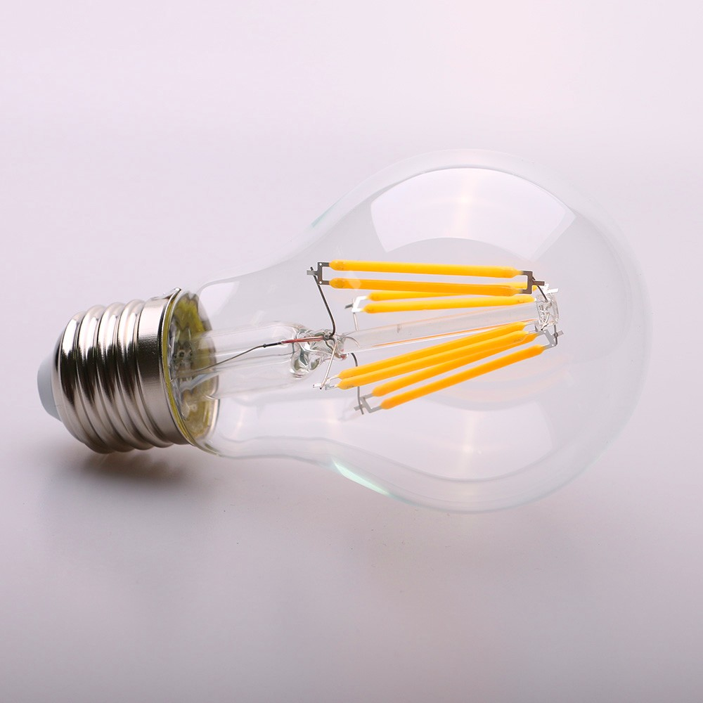 LED bulb filament,RGB filament led bulb, 4W A60 led filament bulb E27