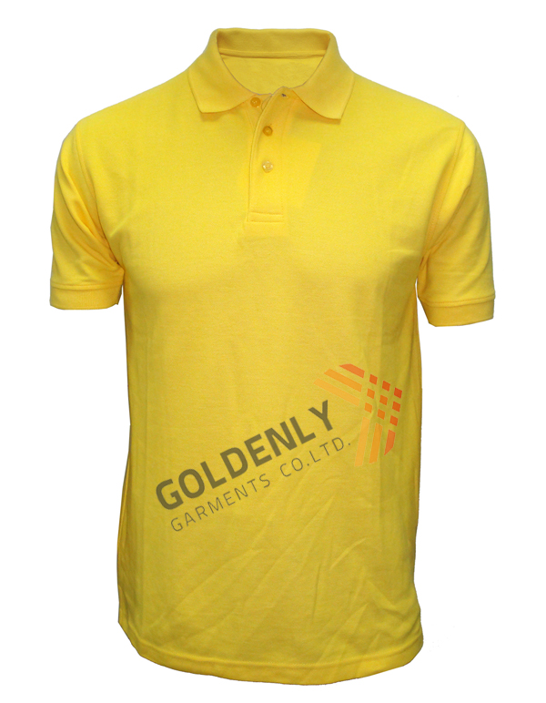cotton polo shirt for men jersy 200 gsm