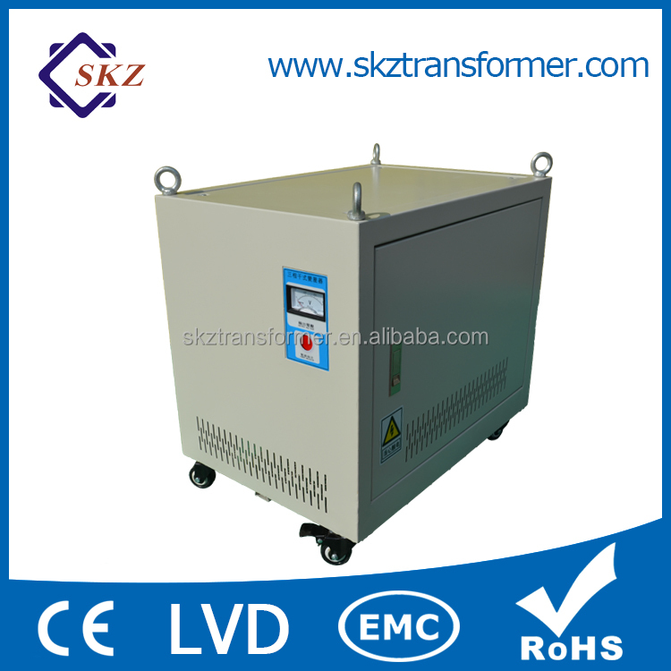 Top Quality Step Down Autotransformer 380V To 200V Three Phase Transformer SBK 8KVA