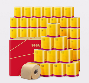 100% bamboo pulp Eco Friendly Toilet Paper