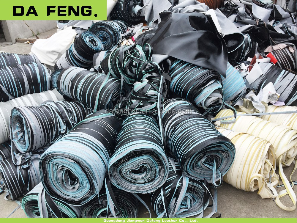 Jiangmen Manufacturer automotive leather scrap