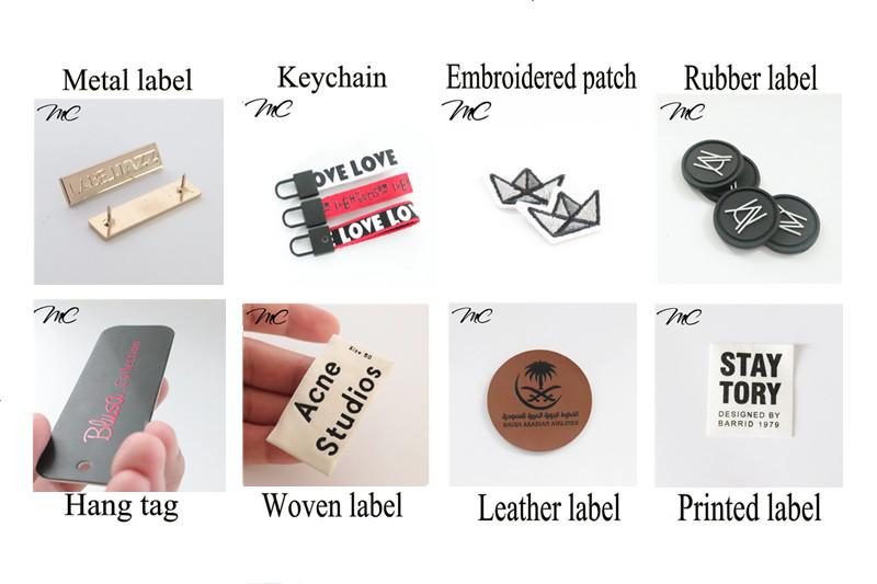 Chine Personnalisé Rouge Cuivre Feuille Impression Fantaisie Recycler Papier Vêtements Étiquette Volante avec chaîne de cire noire