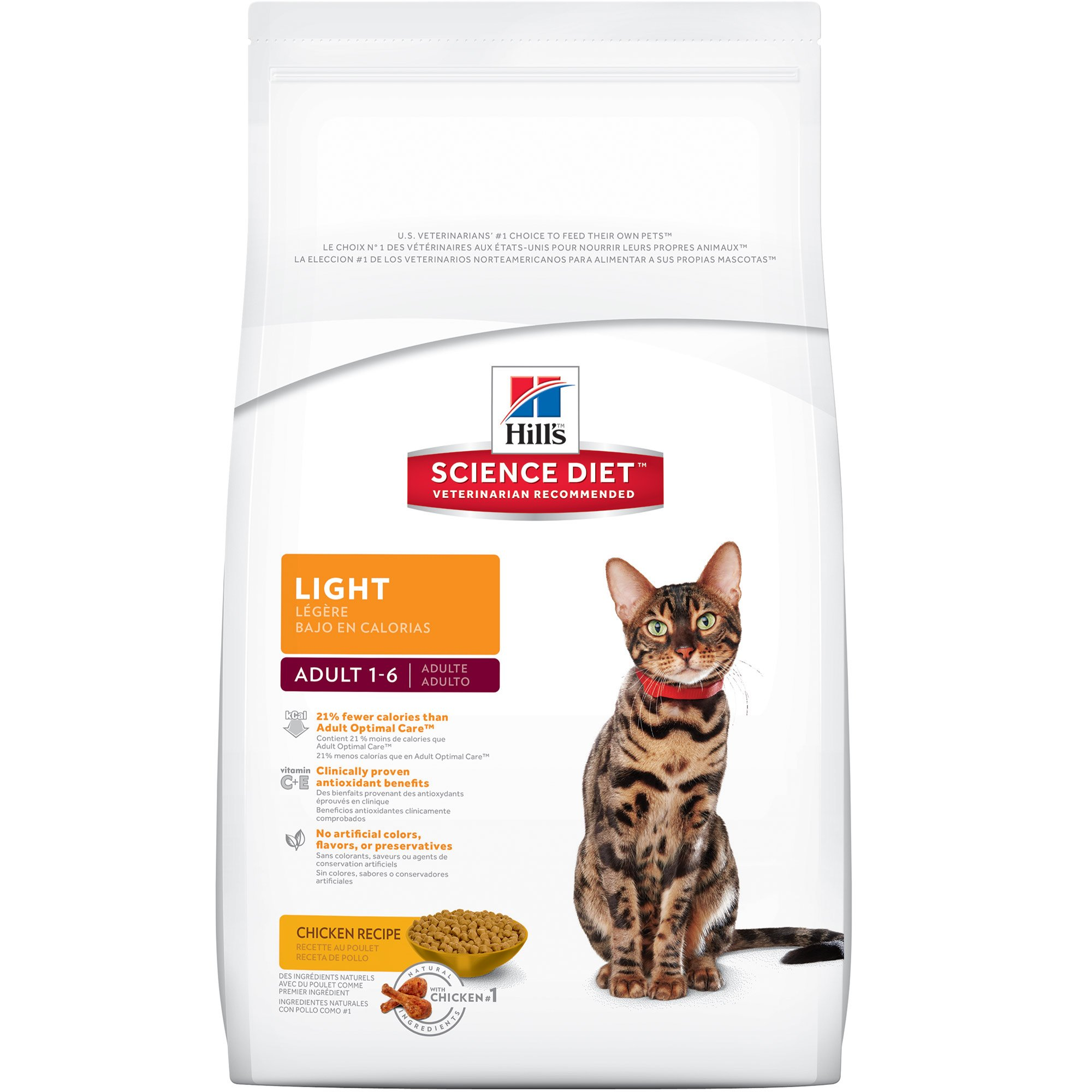 Hill's Science Diet Cat Food for Healthy Weight and Weight Management